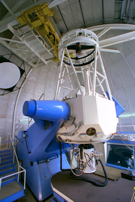 2.1-meter (84-inch) telescope at Kitt Peak National Observatory. Courtesy of NOAO/AURA/NSF.