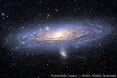 Andromeda Galaxy - NASA, Hubble Telescope