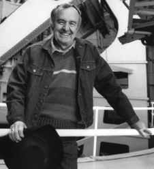 Alan Sandage. Image courtesy of the Observatories of the Carnegie Institution for Science.