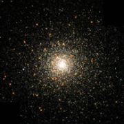 Globular Cluster NGC 6093, image from Hubble Space Telescope, NASA.