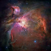Orion Nebula.  Hubble Space Telescope. NASA